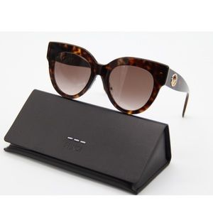 New SUNGLASSES FENDI FF0360/G/S 086 Havana Eyewear